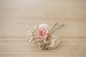 accessoire florale coiffure mariée