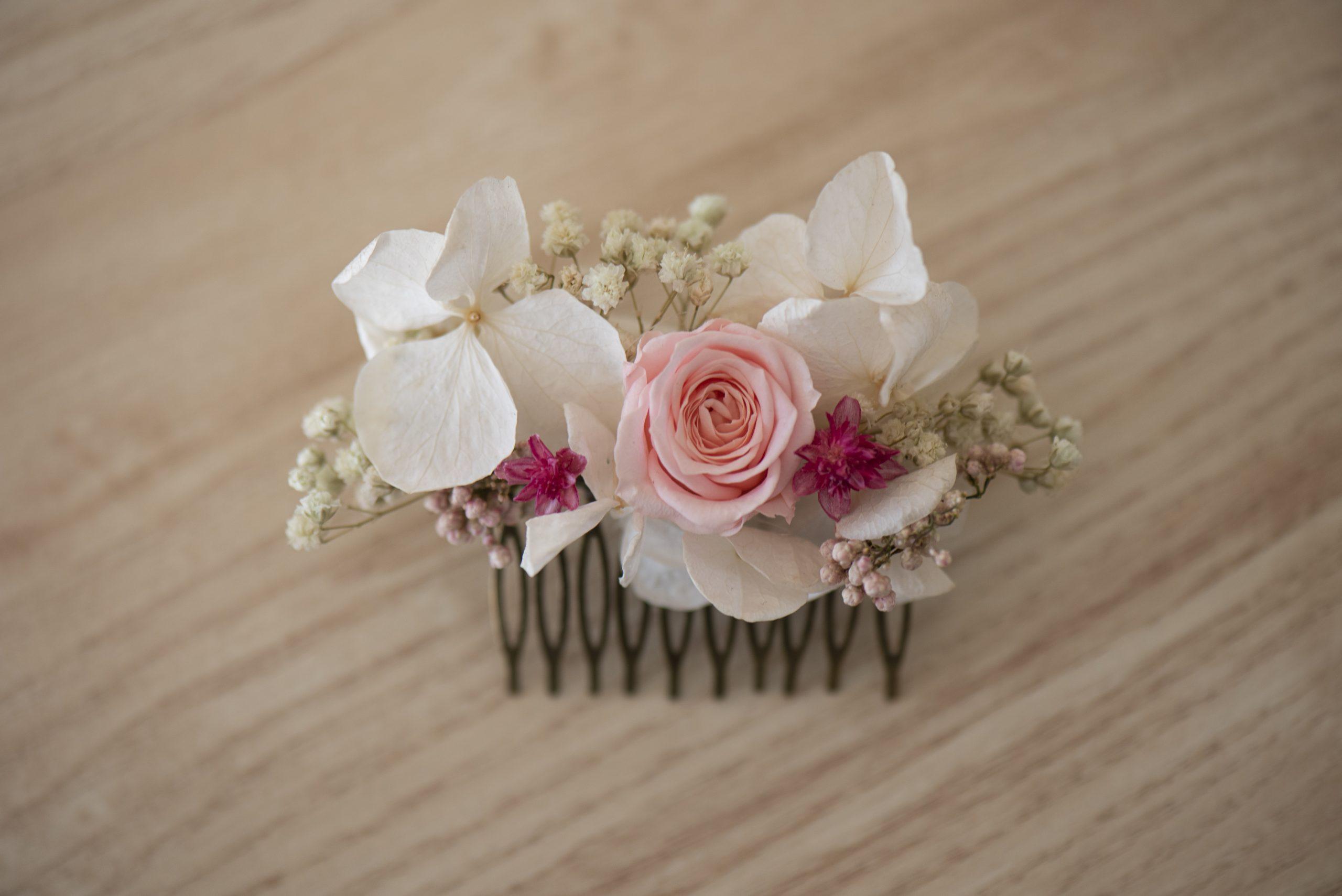 peigne floral